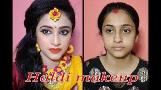Haldi makeup look   makeup tutorial   smart beauty channel  