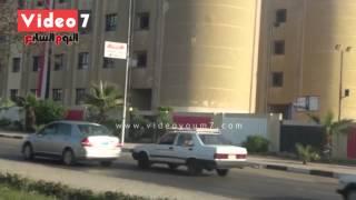 بالفيديو..جامعة الأزهر تغلق بوابة مدينة الطلاب المقابلة لمجمع الملك فهد