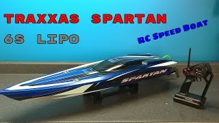 Traxxas Spartan 6S LiPo RC Speed Boat Overview
