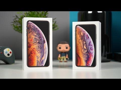 معاينة وفتح صندوق اَيفون Xs و ايفون Xs ماكس - iPhone Xs Max