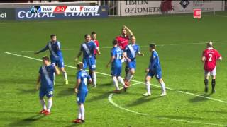 Hartlepool United F.C vs Salford City FA Cup 15/12/2015 1st half