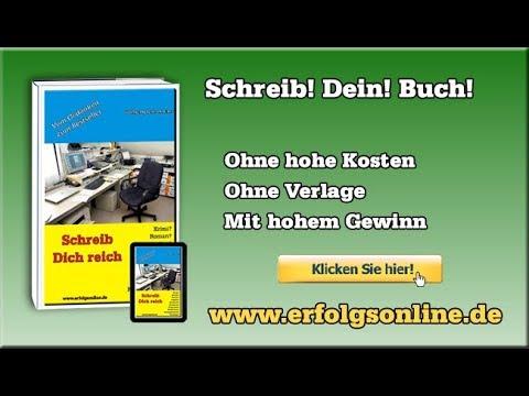 Ohne Verleger Bücher verkaufen - Buch im Selbstverlag veröffentlichen »Schreib dich reich«