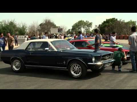 Ford Mustang lovers in Tehran Iran عاشقان فورد موستانگ تهران ايران