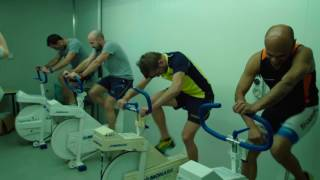 Extreme training in the climate chamber