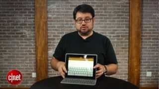 Logitech Solar Keyboard Folio for iPad - First Look