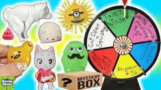 Wheel Of Squish! Gudetama Squishy Toy And Funny Dog Blind Box Doctor Squish