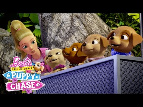 Barbie & Her Sisters in a Puppy Chase Trailer | Barbie