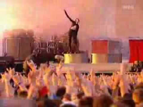 Marilyn Manson - The Dope Show (liverock Am Ring 2003) video