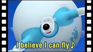 I believe I can fly♪ (15mins)   Kids movie   Animated Short   Pororo mini movie
