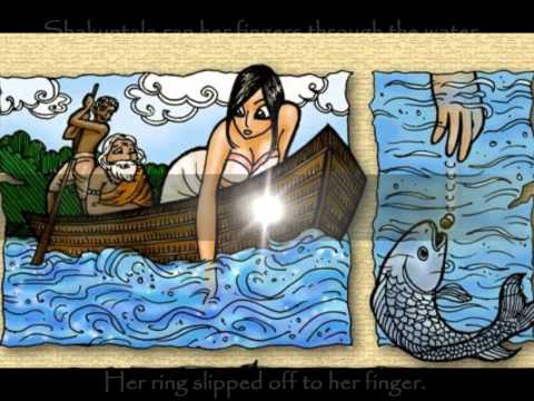 Short Summarization Of The Love Story Of Shakuntala video
