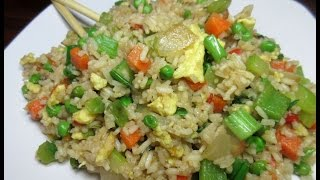 How to Make Vegetable Fried Rice ~ Fried Rice Recipe