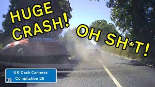UK Dash Cameras - Compilation 29 - 2018 Bad Drivers, Crashes + Close Calls