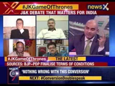 Nation at 9: #JKGamesOfThrones- J&K on hold CM's post