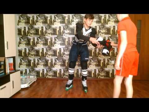 Как правильно одевать хоккейную экипировку