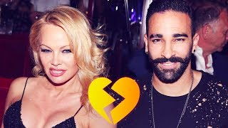 Why Pamela Anderson broke up with World Cup winner Adil Rami - Oh My Goal