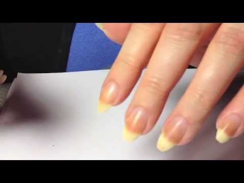 How to Shape Natural Nails into a Pointy Stiletto