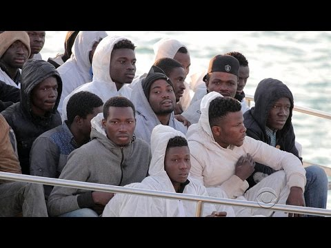 Inside the dangerous migrant journey to Italy