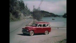 Volvo PV 445 Duett TV ad 1958