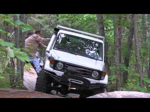 Toyota Land Cruisers Off Road. HZJ79. BJ74. FJ40. technical trail. PowerModz.com!