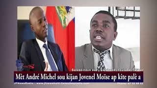 VIDEO: Andre Michel anonse prezidan pwovizwa ki pwal ranplase Jovenel Moise