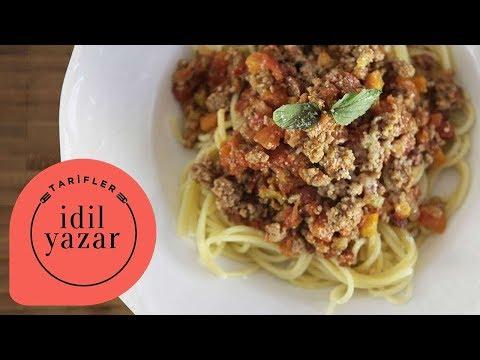 Spaghetti Bolognese Nasıl Yapılır ? - İdil Tatari - Yemek Tarifleri