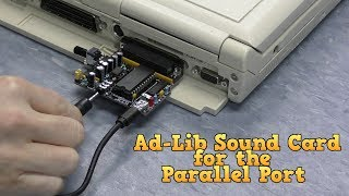 Ad-Lib Sound Card for the Parallel Port