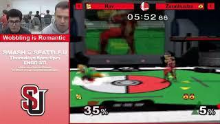 SU Melee 2/14/19 - Nav (Fox) vs. Zarathurstra (Sheik) - Club Bracket Grand Finals