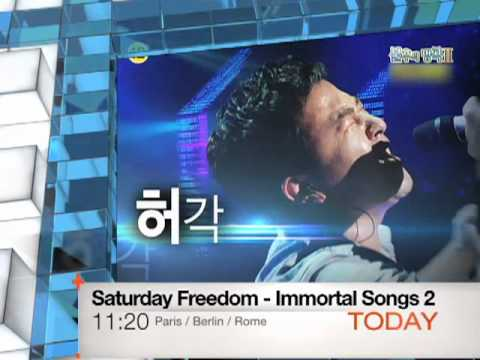 Today 1022 Saturday Freedom : Immortal Songs 2