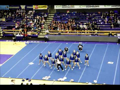 Olympic High School Cheerleading State Competition