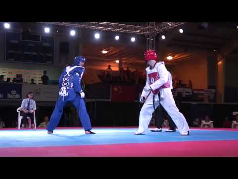 World Cup Taekwondo Wtf Team Championships 2012 iran- Korea video