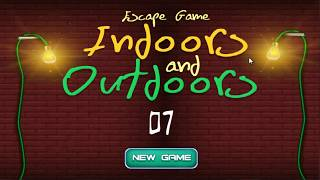 Escape Game Indoors And Outdoors 7 WalkThrough - FirstEscapeGames