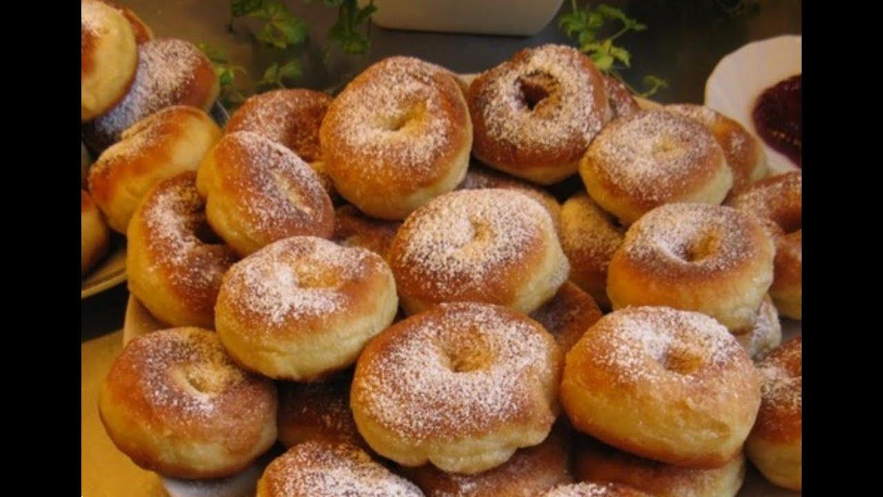 Рецепт пончиков на кефире и дрожжах пошагово