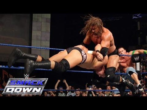 Full-length Match - Smackdown - Undertaker, John Cena & Dx Vs. Cm Punk & Legacy video