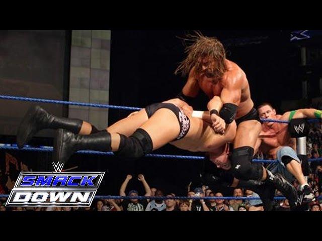 FULL-LENGTH MATCH - SmackDown - Undertaker, John Cena & DX vs. CM Punk & Legacy