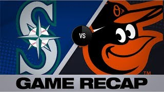Santander and Alberto go yard in 5-3 victory | Mariners-Orioles Game Highlights 9/20/19