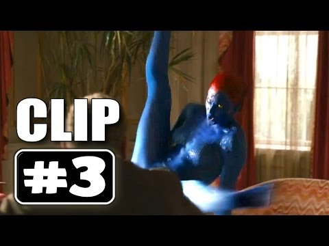 Mystique Fight X Men Days Of Future Past Movie Clip ...