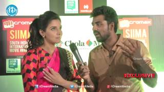 Sound Thoma - Actress Asin Exclusive Interview - SIIMA 2014 Awards