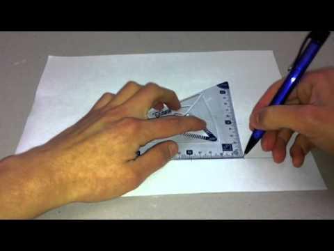 C mo dibujar un prisma rectangular dibujar cuerpos for Como hacer un sobre rectangular