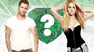WHO'S RICHER? - Adam Levine or Avril Lavigne? - Net Worth Revealed!