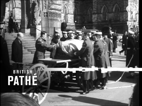 Death Of Georges Vanier, Former Governor General Of Canada  (1967)
