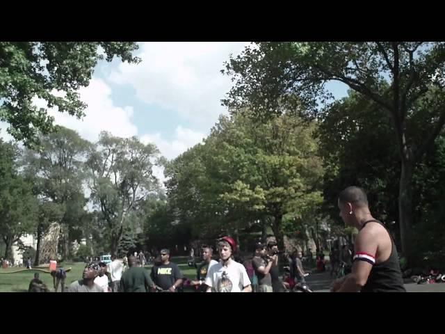 NYC Unicycle Basketball Festival