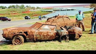 Two cars pulled from Lake Foss, Oklahoma