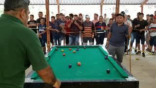 Acerola de Ro vs Leão do Norte. Um jogaço de sinuca em Porto Velho Ro.