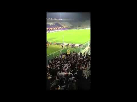 Fiorentina  vs Juventus 0-1 settore ospiti 20/03/2014 la perla di Pirlo