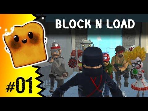 Block N Load PL - Połączenie Minecraft I Team Fortress 2 (gry Strzelanki)