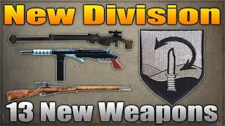MASSIVE Call of Duty WW2 LEAK: 13 New Weapons, New Division and more!