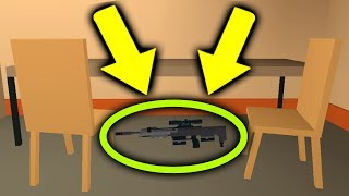 IS THERE A SECRET SNIPER RIFLE IN ROBLOX JAILBREAK?
