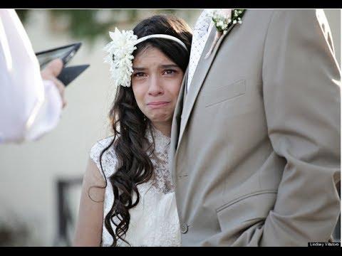 "Niña ""se casa"" para cumplir deseo de su padre con cáncer terminal VIDEO ORIGINAL HD"