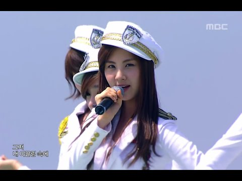 Girls' Generation - Genie, 소녀시대 - 소원을 말해봐, Music Core 20090718 Music Videos