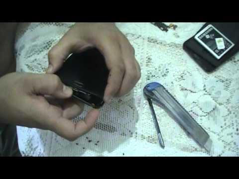 N7000 - Reposição conector USB (Como desmontar. trocar Alto-falante (speaker) e/ou conector USB)
